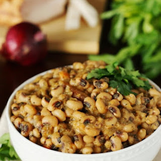 New Year's Day Black-Eyed Peas.