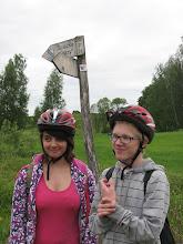 """Photo: Wreszcie docieramy do ścieżki przyrodniczej """"Płazy""""."""