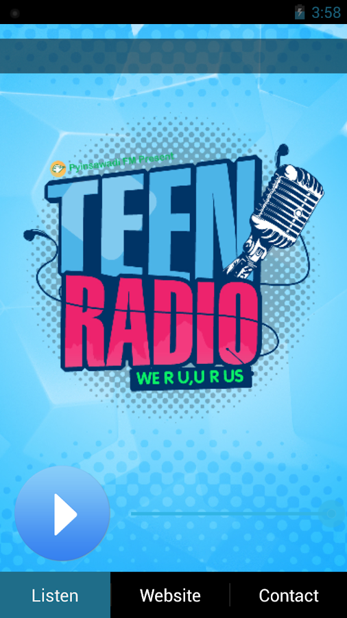 Teen Radio Pyinsawadi- screenshot