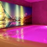 Alpen Resort Pool in Zermatt in Zermatt, Valais, Switzerland