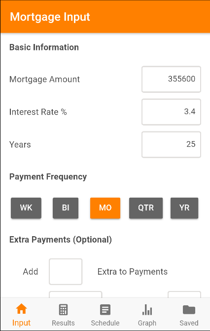 Mortgage Calculator Plus- screenshot