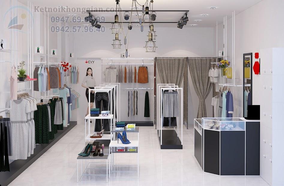 thiết kế shop thời trang công sở nữ tại bắc cạn