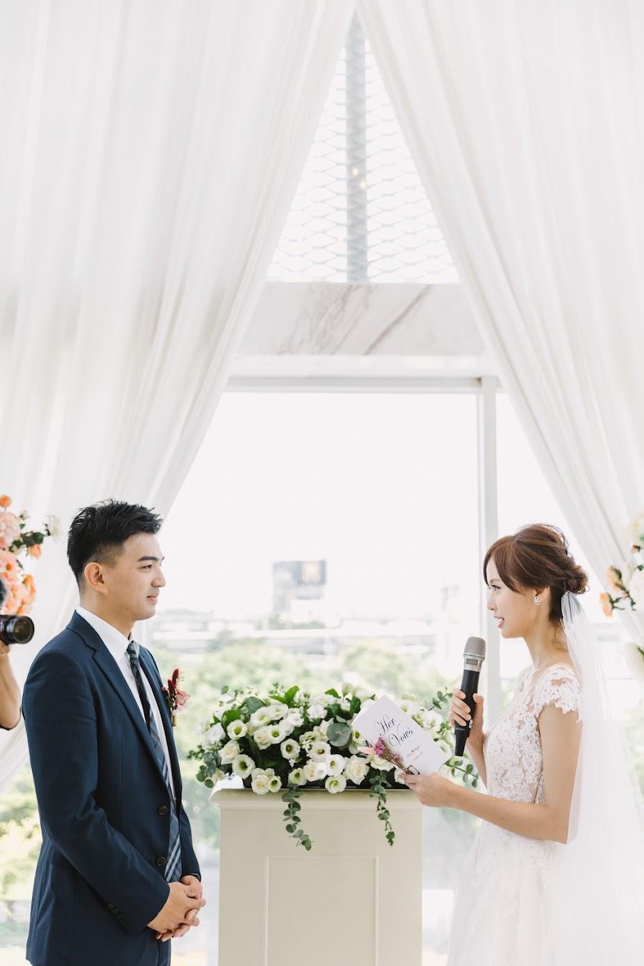 在 台中 的 萊特薇庭 釜宮 場地舉行陽光正好的美式 婚禮 , 是每位新娘夢寐以求的西式婚禮樣式!