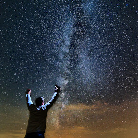 Milky Way Illumination by James Bokovoy - Landscapes Starscapes (  )