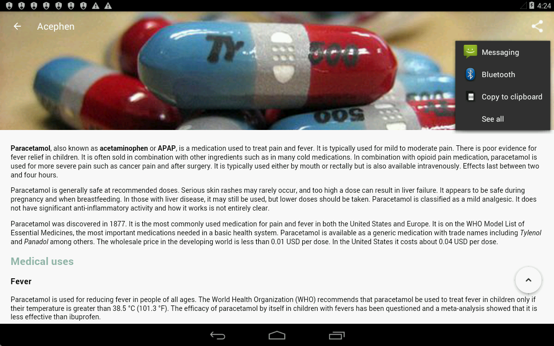 Drugs Dictionary- screenshot