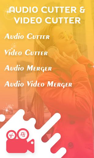 MP3 Cutter & Video Cutter - Audio Video Merger for PC / Windows 7, 8