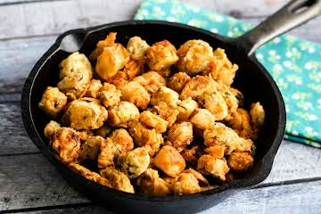 Mama's Fried Okra With Green Tomatoes