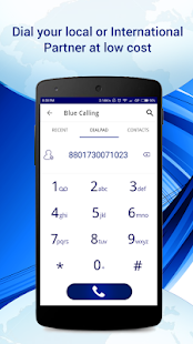 Blue Calling - náhled