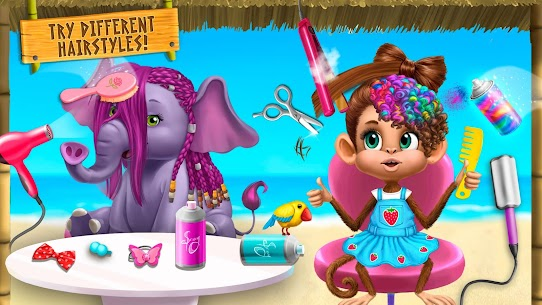 Jungle Animal Hair Salon 2 – Tropical Beauty Salon 7
