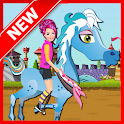 Pony Ride : Girl Game icon