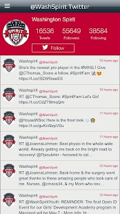Washington Spirit- screenshot thumbnail