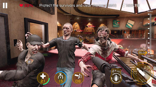 Kill Shot Virus: Zombie FPS Shooting Game 2.1.0 Mod screenshots 1