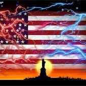 Live Wallpaper USA Flag