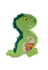 Pinata, dinosaurie, grön