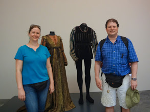 Photo: Romeo and Juliet costumes! Wait a minute, that doesn't even make sense since we're in Pisa now?