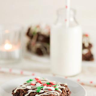 Festive Chocolate Flapjack