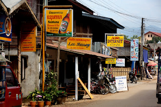 Photo: Day 303 - Street in Vang Vieng