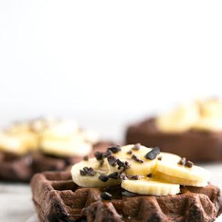 Vegan Gluten Free Chocolate Waffles
