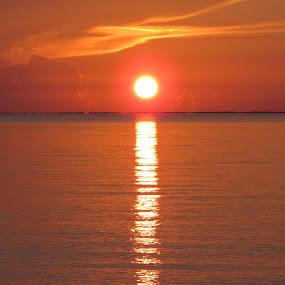 Sunrise in Varadero by Paul Popovici - Landscapes Sunsets & Sunrises