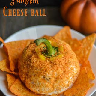 Easy Pumpkin Cheese Ball.