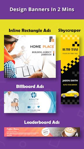 Banner Maker, Ad Maker, Web Banners, Graphic Art 6.0 screenshots 1