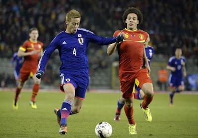 Opvallende combinatie: Japanse ster Keisuke Honda wordt zowel speler als bondscoach