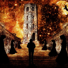 The Coven by Edward Allen - Digital Art Places (  )
