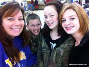 Photo: We had a few things to pick up, so two of my kids, plus my sweet niece headed to Walmart for some shopping fun!