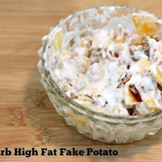 Low Carb Fake Potato.