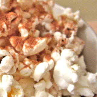 DIY Microwave Popcorn with Cinnamon, Sugar, and Coconut Butter!