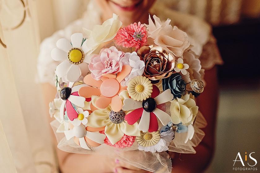 Elegir un ramo de novia DIY