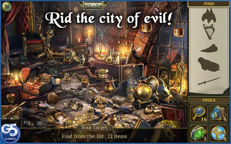 android Hidden City:Mystery of Shadows Screenshot 4