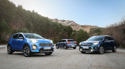 KIA supera los 500.000 coches electrificados