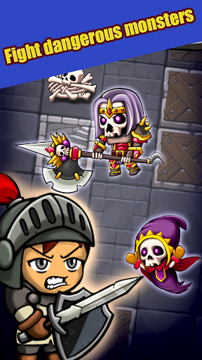 Télécharger Dungeon Knights apk mod screenshots 1
