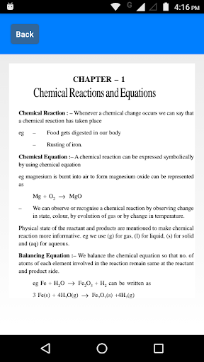 Class 10 Science Notes Chapter 1