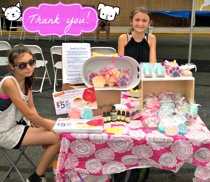 Photo: A very special thank you to everyone who came out to the #Massapequa  +Petco this Saturday for the Kids Adopt A Shelter adoption fashion show! We are so excited that our #essentialoils were chosen to be used in these paw-tastic soaps, the proceeds from which are being generously donated to Bobbi And The Strays🐶❤️ We look forward to seeing everyone at the next event!
