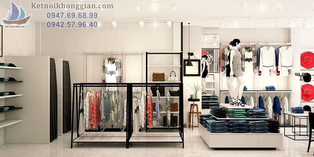 thiết kế shop thời trang chất lượng cao