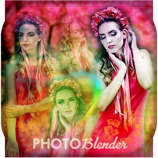 Ultimate Photo Blender Photo Mixer App Icon