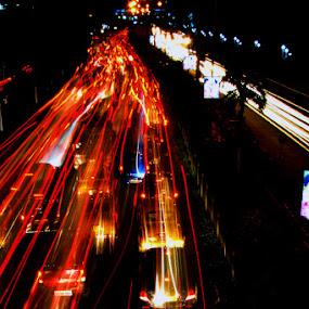 City Lights by Debdatta Chakraborty - News & Events World Events ( fine art, photo journalism )