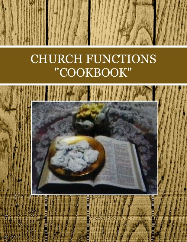 "CHURCH FUNCTIONS ""COOKBOOK"""