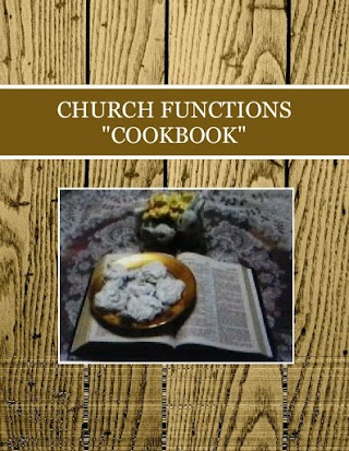 """CHURCH FUNCTIONS """"COOKBOOK"""""""