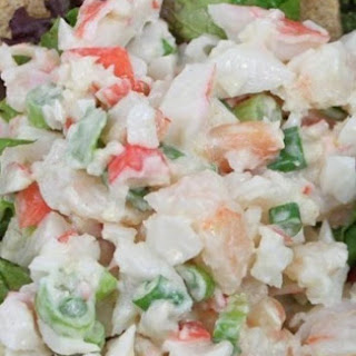 Crab & Shrimp Salad.