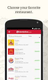Domicilios.com - Order food screenshot 00