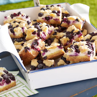 Lemon-Blueberry Crumb Bars.