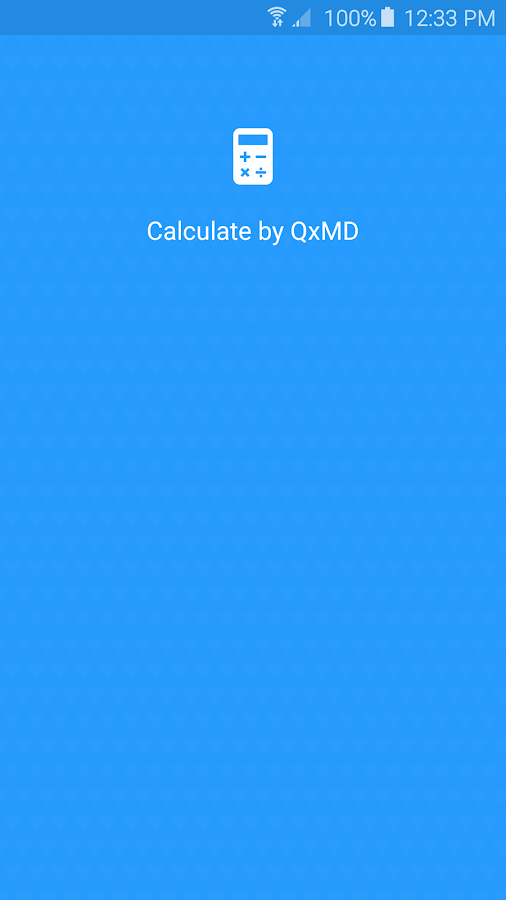Calculate by QxMD- screenshot