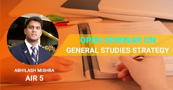 Seminar on General Studies Stratergies by Abhilash Mishra (AIR 05)