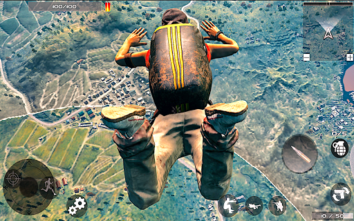 Legends Battle Free Firing Epic Survival Aim Fire 3.0 screenshots 3