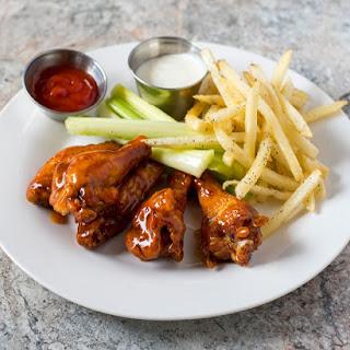 Homemade Chicken Wings.