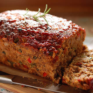 Vegetable and Turkey Meatloaf.