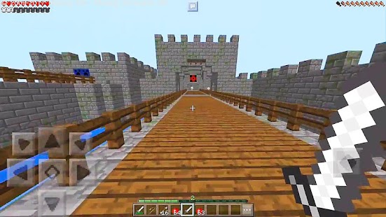 Castle Wars Minecraft PvP Map - náhled